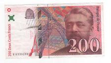 Billet de 200 francs Gustave Eiffel, 1997, TTB