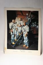 Rare Vintage Crew of Apollo 8  Photo . Photo No 68 - HC - 730  Size 14''x 11''