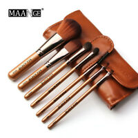 Makeup Brush Set Professional Cosmetic Make Up Brush Tool with Pouch Bag Case