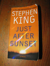 Just After Sunset by Stephen King Paperback Book