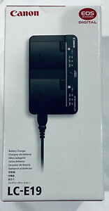 BRAND NEW Canon Battery Charger LC-E19 EOS