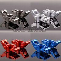 2P 77076-4 Aluminum 7752 Carriers, stub axle (L & R) For RC 1/5 Traxxas X-Maxx