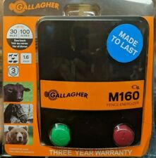 Gallagher Electric Fence Charger M160 16 Stored Joules New Free Shipping
