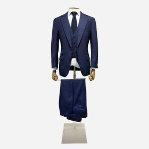 Thom Sweeney Bespoke Suit. Size 36 UK, 46 IT