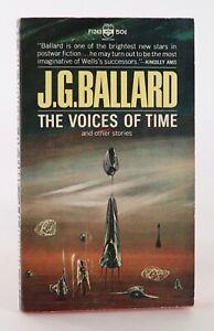 J.G Ballard The Voices of Time Vintage Sci-Fi Paperback Unread 👍