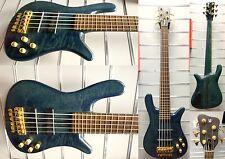 Warwick Streamer STAGE i-5 String-E-Bass-Year 1992 | Deep Aqua Blue | espositori