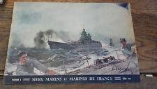 Mers, marins et marines de France tome 1 la marine de guerre par  Thomazi