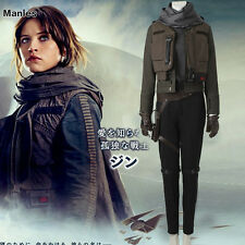 Rogue One: A Star Wars Story Jyn Erso Sergeant Costume Halloween Cosplay Outfit