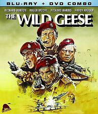 THE WILD GEESE (RICHARD BURTON) - BLU RAY - Region free - Sealed