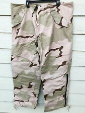 NEW USGI ECWCS GORE-TEX COLD WEATHER DESERT CAMOUFLAGE PANTS - X-LARGE LONG