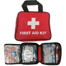 106 Piece First 1st Aid Kit Medical Emergency Travel Home Car Taxi Work Red Bag