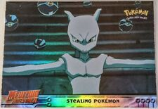 Mewtwo Strikes Back Topps Pokemon Cards - Blue Logo Foil Cards