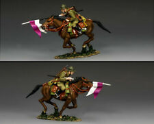 King & Country Fields of Battle FOB162 Polish Cavalry Charging Lancer