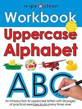Wipe Clean Work Books: Uppercase Alphabet, New Books