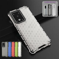 For Samsung S21+ S20 Note 20 Ultra Note 10 Hybrid Silicone Shockproof Case Cover