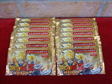 14 Boosters Dragon Ball Z série or ed  Lamincards made in Italy