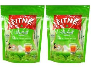 2 x FITNE HERBAL GREEN TEA 100% Natural SLIMMING WEIGHT LOSS DIET 30 Teabags