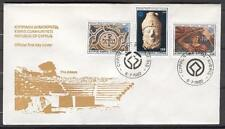 FDC G93 Cyprus 1982 3v Cultural heritage