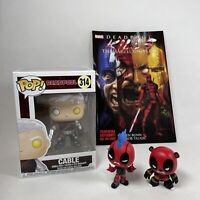 Marvel Funko Pop! Deadpool Bundle x2 Mystery Mini's Cable Figure & Comic Book