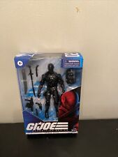 "Hasbro G.I. Joe Classified Series Snake Eyes 6"" Action Figure NIB"