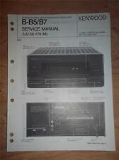 Kenwood Service Manual~B-B5/B7 Amplifier~UD-501/701M~Original~Repair Manual