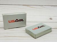 Vintage US Air Airlines United States Air Playing Cards Advertising Aviation EUC