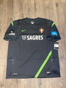 RARE Coach Issue Portugal Training Jersey Nike Mens Size Medium Short Sleeve XXL
