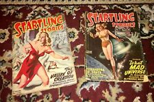Two Issues of Startling Stories July/September 1948 pulps Jack Vance