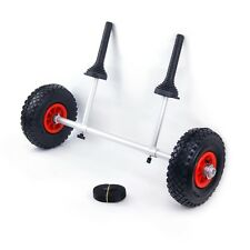 Sit on Top Kayak Trolley - Scupper Cart - Adjustable Easy Fit Strong Aluminium