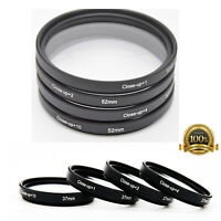 37-82mm Macro Close Up Lens Filter Adapter +1/+2/+4/+10 Set for Canon Sony DSLR