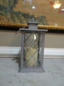 Decorative LED Lantern with Flameless Candle NEW