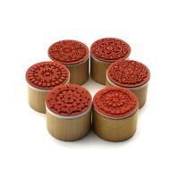 2*STÜCK Süße DIY-Stempel Sonnenblumen Muster Papier Holz Siegel Drücken Stempel