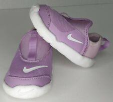 Nike Lil Swoosh Girls Size 4C Purple Toddler Sneakers Shoes Fuchsia AQ3114 500