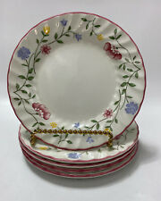 Johnson Brothers Summer Chintz Bread & Butter Plates Set 5 Vintage England 6 1/4