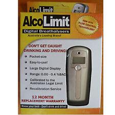 AlcoLimit Digital Breathalysers Breath Tester Personal Alco001 BAC 0.00-0.4