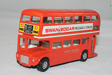 CORGI #469 ROUTEMASTER LONDON TRANSPORT BUS, SWAN EDGAR / DEBENHAMS, NICE