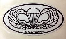 AIRBORNE  PARATROOPER WINGS  STICKER