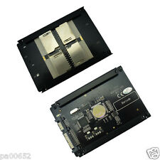 "4 SD RAID to SATA Adaptor SATA 2.5"" HDD bracket with RAID Quad SD SDHC SDXC"