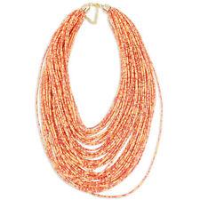Modeschmuck-Halsketten aus Glas mit Korallen