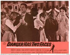 Danger Has Two Faces 11x14 Lobby Card #7