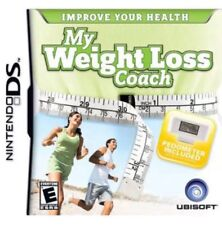 My Weight Loss coach Nintendo DS NIP Pedometer Included