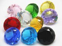 10pcs 40mm Crystal Paperweight decoration Christmas Diamond Decor wedding gift