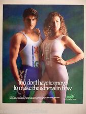 Puma Cross Training Clothes PRINT AD - 1988 ~~ athletic wear