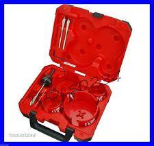Milwaukee 49-56-9285 8Pc Big Hawg Hole Cutter Kit