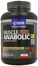 USN Muscle Fuel Anabolic Muscle Gain Shake Powder Chocolate 2 kg