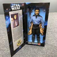 VTG 90s Star Wars Collector Series Lando Calrissian Kenner Doll Figure In Box