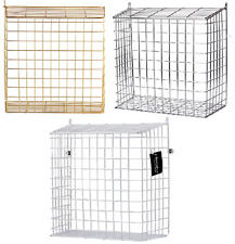 NEW  LARGE LETTER BOX CAGE LETTERBOX POST MAIL BOX BASKET CATCHER DOG GUARD