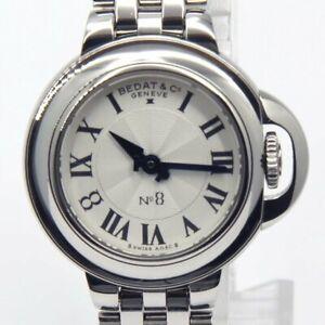 BEDAT & Co NO.8 B827.011.600 Quartz Silver Dial Stainless Steel Women's
