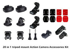 Bundle Accessories Quick Release Buckle J-hook Tripod Mount for Action Camera