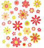 2 Sheets Glitter Daisy Flowers Planner Stickers Papercraft DIY Craft Scrapbook